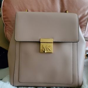 NWT Michael Kors Mindy Backpack in Fawn